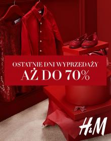 H&M Ostateczna WYPRZEDAŻ