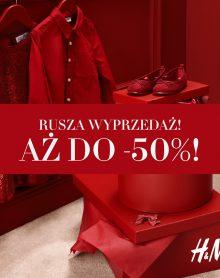 H&M – Letnia wyprzedaż do -50%